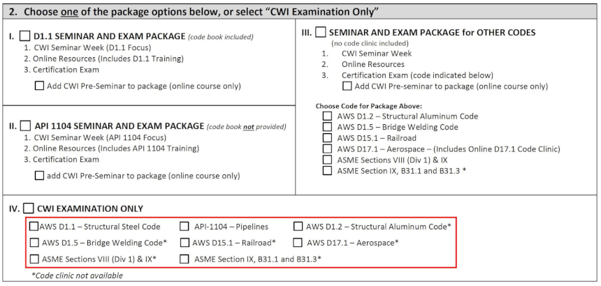 How To Become A Cwi Certified Welding Inspector Si Certs